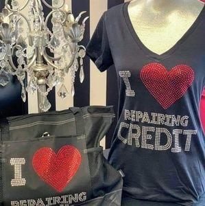 I Love Repairing Credit Tee